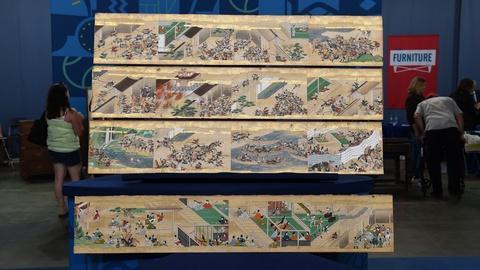 Antiques Roadshow -- S21 Ep6: Appraisal: 17th-Century Japanese Handscroll Fragmen