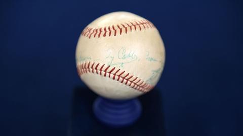 Antiques Roadshow -- S21 Ep6: Appraisal: 1961 Ty Cobb-signed Baseball