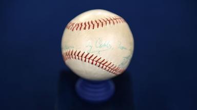Appraisal: 1961 Ty Cobb-signed Baseball