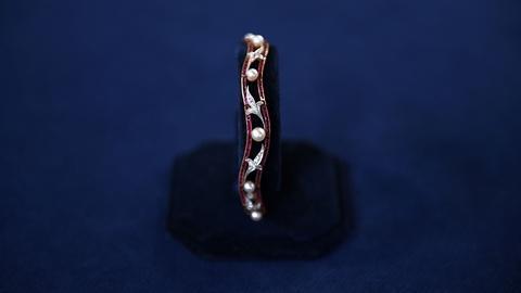 Antiques Roadshow -- S21 Ep6: Appraisal: Edwardian Ruby & Diamond Bracelet, ca. 1