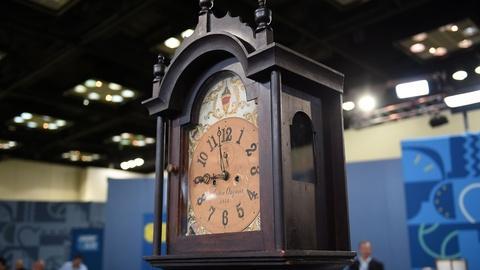 Antiques Roadshow -- S21 Ep6: Appraisal: John Osgood Tall Case Clock, ca. 1812