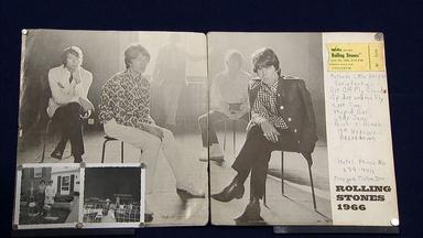 Appraisal: Rolling Stones Ticket & Photographs