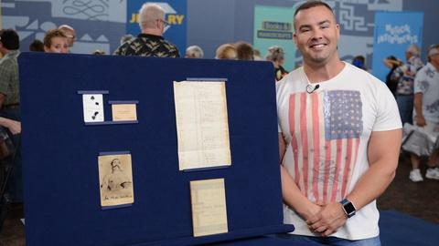 Antiques Roadshow -- S21 Ep7: Owner Interview: John Wesley Hardin Collection, ca.