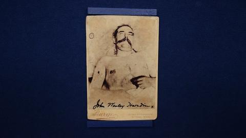 Antiques Roadshow -- S21 Ep7: Appraisal: John Wesley Hardin Collection, ca. 1880