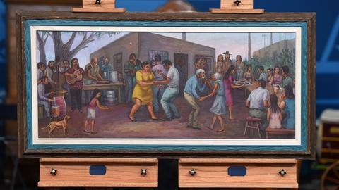 Antiques Roadshow -- S21 Ep7: Appraisal: 1976 Domingo Ulloa Oil Painting