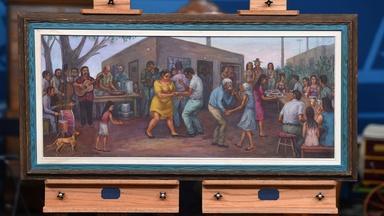 Appraisal: 1976 Domingo Ulloa Oil Painting