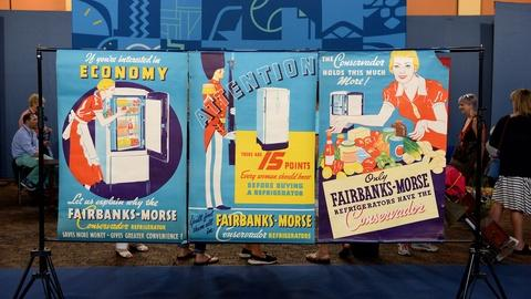Antiques Roadshow -- S21 Ep7: Appraisal: Fairbanks-Morse Refrigerator Posters, ca