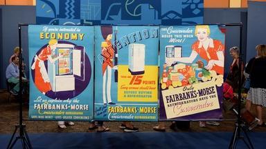Appraisal: Fairbanks-Morse Refrigerator Posters, ca. 1935
