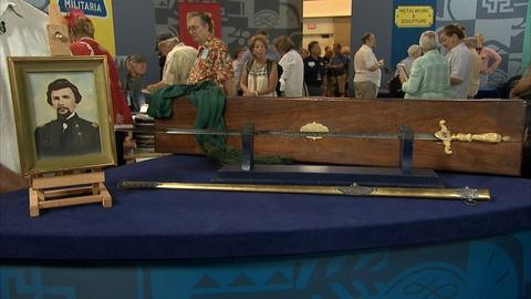 Antiques Roadshow -- S21 Ep7: Appraisal: Civil War Union Medical Officer's Sword