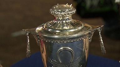 Appraisal: 1955 Willie Shoemaker Kentucky Derby Trophy