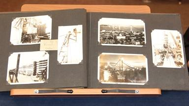 Web Appraisal: Bay Bridge Photo Album, ca. 1935