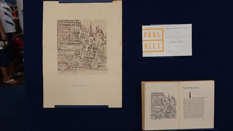 """Antiques Roadshow -- S21 Ep8: Appraisal: 1927 Paul Klee """"Leichter Verfall"""" Ink Dr"""
