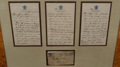 Appraisal: 1933 Jim Thorpe Handwritten Letter