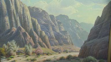 Appraisal: Paul Grimm Oil Painting, ca. 1940