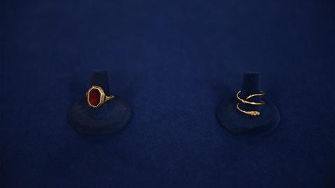 Antiques Roadshow -- S21 Ep9: Appraisal: Garnet & Snake Gold Rings, ca. 1770
