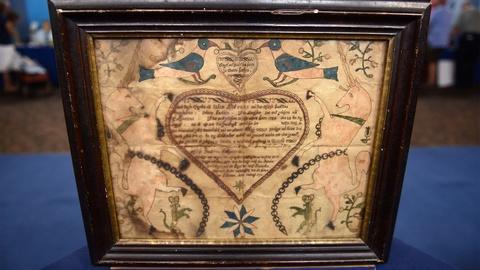 Antiques Roadshow -- Appraisal: 1793 Christian Mertel Pennsylvania German Fraktur