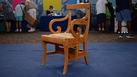 Antiques Roadshow -- S21 Ep9: Appraisal: 1937 Ginger Rogers's Metamorphic Chair