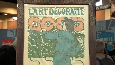 Appraisal: Hans Christiansen Poster, ca. 1902