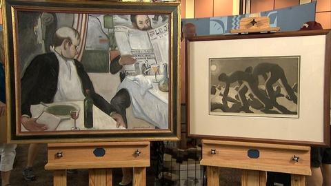 Antiques Roadshow -- S21 Ep9: Appraisal: Doel Reed Painting & Aquatint, ca. 1935
