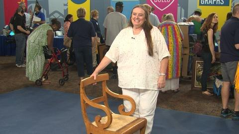 Antiques Roadshow -- Owner Interview: Ginger Rogers Chair