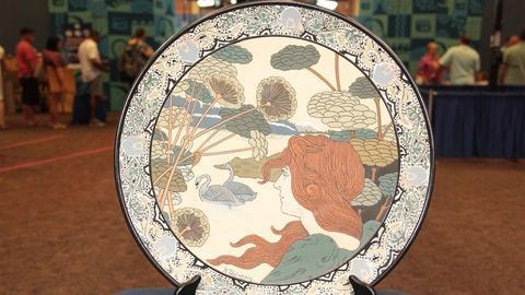 Antiques Roadshow -- S21: Web Appraisal: Mettlach Cameo Platter, ca. 1900
