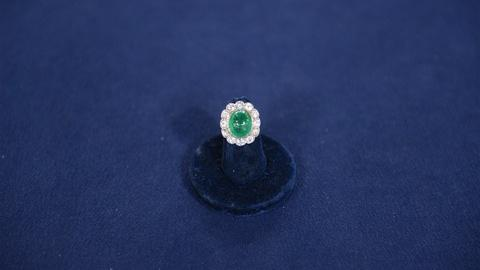 Antiques Roadshow -- S21 Ep10: Appraisal: Emerald & Diamond Ring, ca. 1900