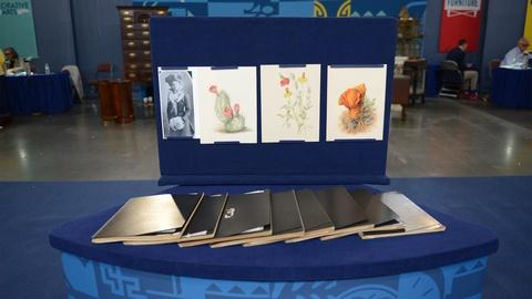 Antiques Roadshow -- S21 Ep10: Appraisal: Cora Mosher Arizona Flora Studies, ca.