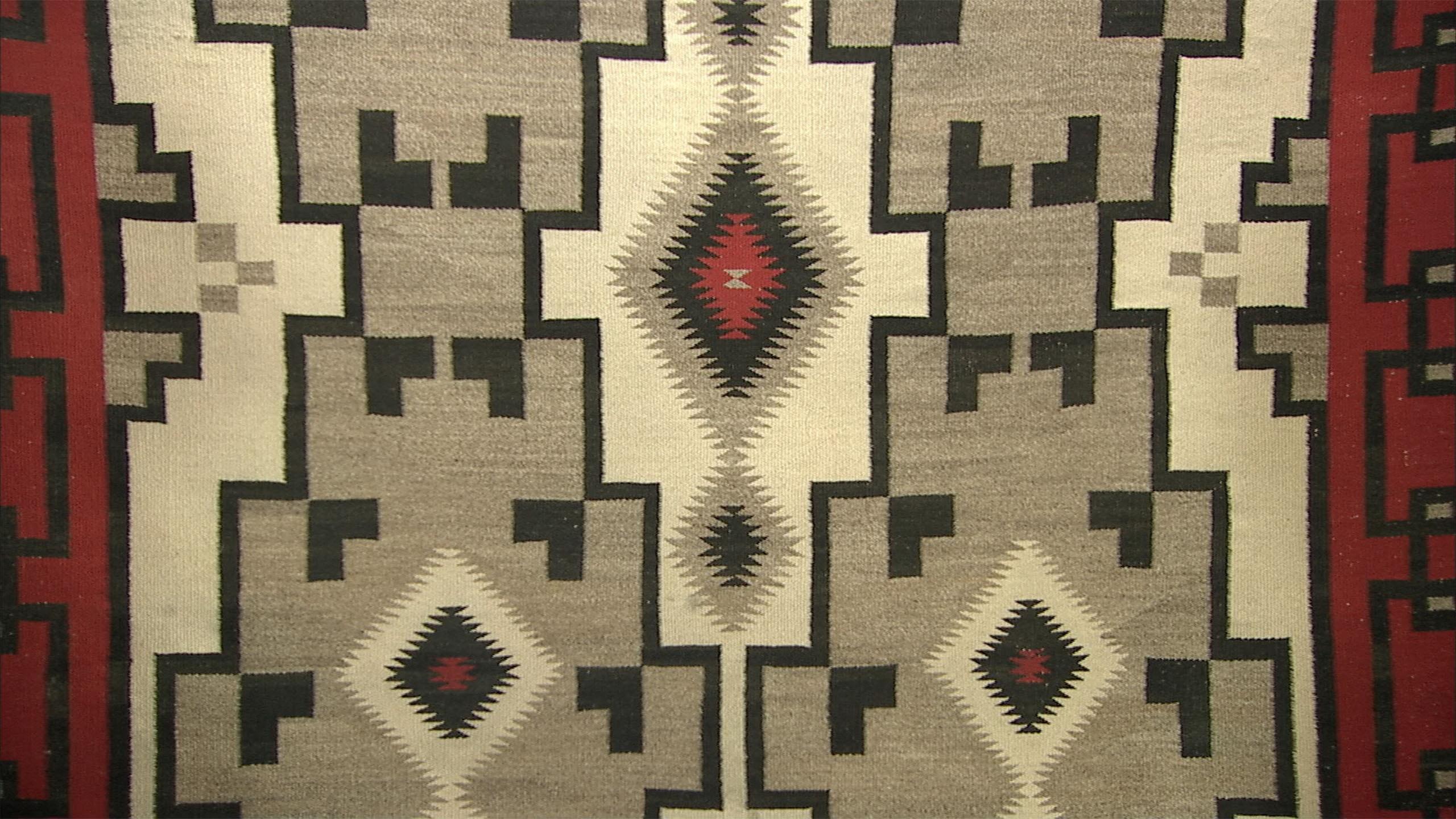 Raisal Ganado Style Navajo Rug Ca 1930