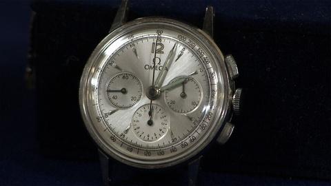 Antiques Roadshow -- S21 Ep10: Appraisal: Ab Jenkins's Omega Chronograph Watch, c