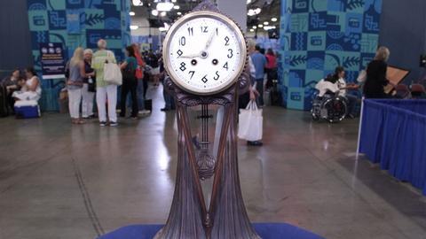 Antiques Roadshow -- S21: Web Appraisal: Lenzkirch Table Clock, ca. 1915