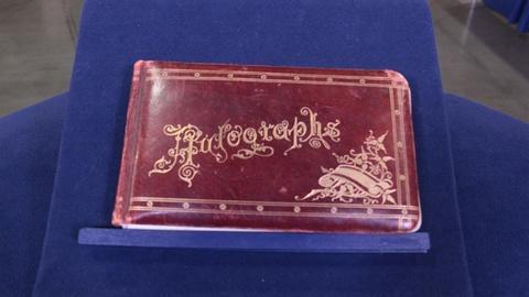 Antiques Roadshow -- S21: Web Appraisal: 1888 Mormon Polygamist's Prison Autograp
