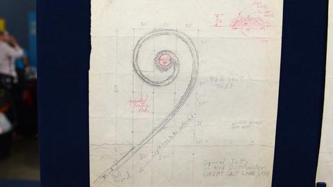 Antiques Roadshow -- S21 Ep11: Appraisal: 1970 Robert Smithson Spiral Jetty Plans