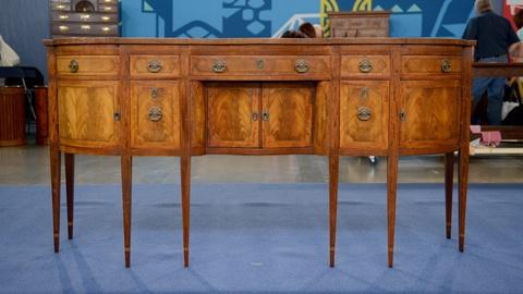 Antiques Roadshow -- S21 Ep11: Appraisal: Irwin Federal-Style Pendleton Sideboard