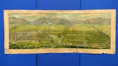 Appraisal: Ogden, Utah Bird's Eye View, ca. 1915