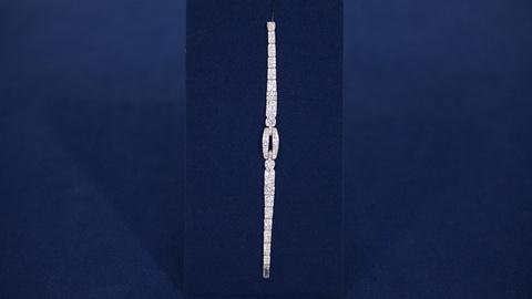 Antiques Roadshow -- S21 Ep11: Appraisal: Cartier Art Deco Diamond Bracelet, ca.