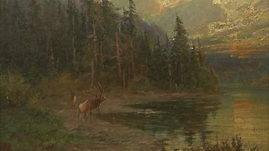 Appraisal: John Fery Oil Painting, ca. 1895