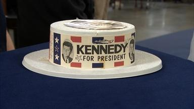 Appraisal: John F. Kennedy-signed Campaign Hat, ca. 1960