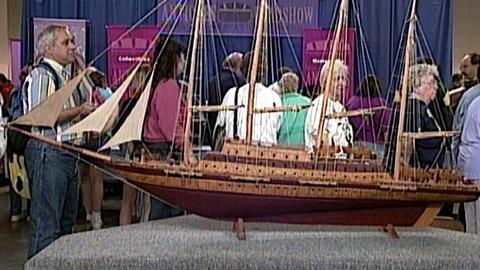 Antiques Roadshow -- S16 Ep23: Appraisal: Folk Art Model Ship, ca. 1900