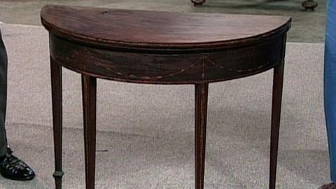 Antiques Roadshow -- S16 Ep23: Appraisal: Seymour Card Table, ca. 1794