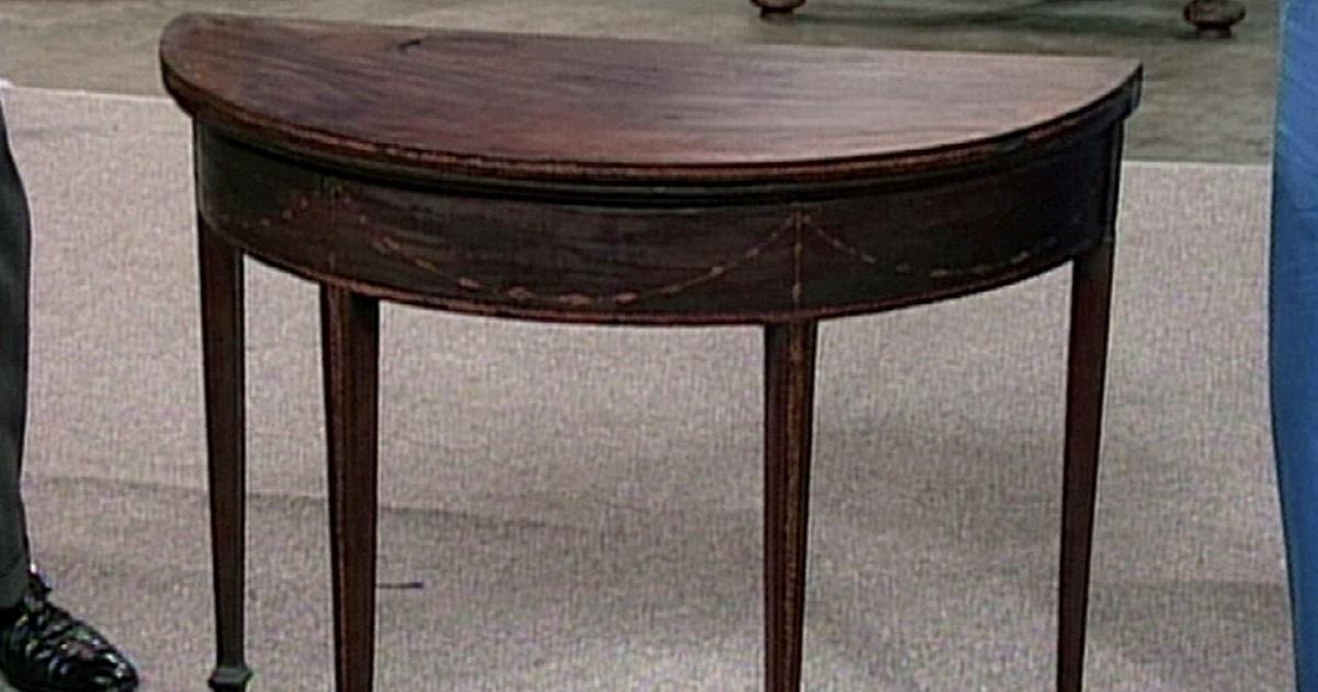 Attirant Appraisal: Seymour Card Table, Ca. 1794 | Antiques Roadshow | PBS