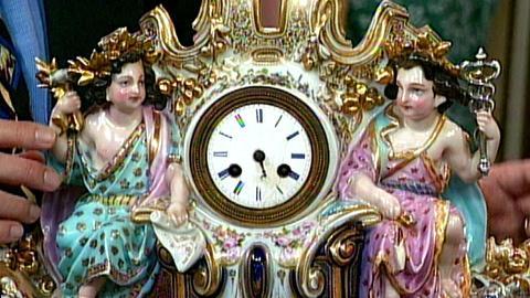 Antiques Roadshow -- S16 Ep24: Appraisal: French Clock & Jardinière, ca. 1850