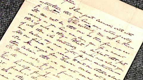 Antiques Roadshow -- S16 Ep25: Appraisal: 1841 Abraham Lincoln Letter