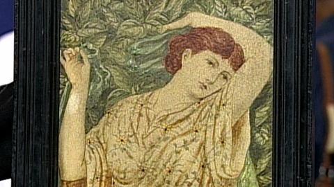 Antiques Roadshow -- S16 Ep25: Appraisal: Cottier & Company Painted Tile, ca. 188
