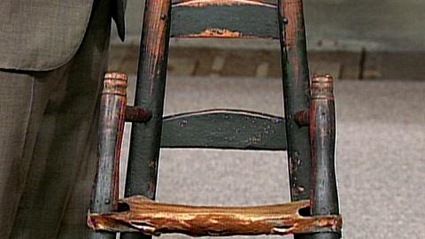 Antiques Roadshow -- S16 Ep25: Appraisal: 18th-Century Child's High Chair