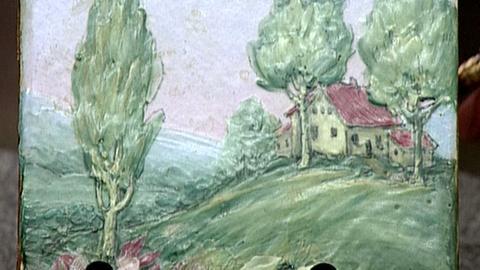 Antiques Roadshow -- S16 Ep25: Appraisal: Weller Painted Tiles, ca. 1920