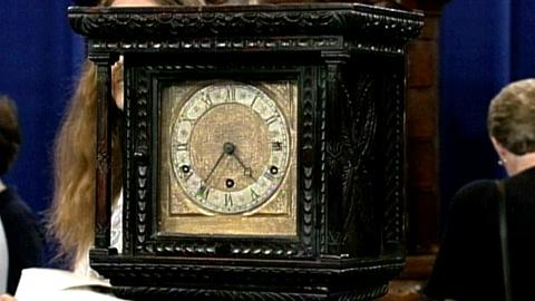 Antiques Roadshow -- S16 Ep26: Appraisal: English Grandmother Clock, c. 1900