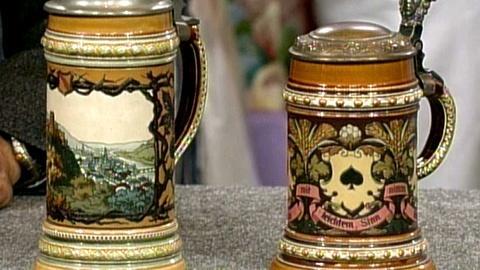 Antiques Roadshow -- S16 Ep26: Appraisal: Mettlach Beer Steins