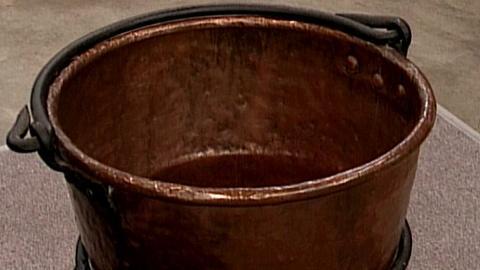 Antiques Roadshow -- S16 Ep27: Appraisal: J.P. Schaum Apple Butter Copper Kettle