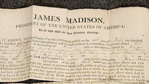 Antiques Roadshow -- S16 Ep27: Appraisal: James Madison Documents