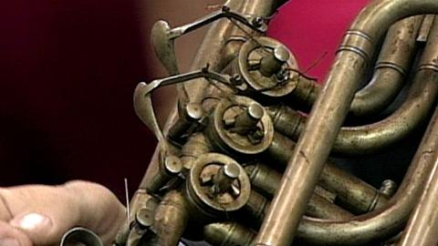 Antiques Roadshow -- S16 Ep27: Appraisal: Over-the-Shoulder Saxhorn, ca. 1850